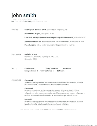 Modern Resume Template Open Office Open Office Resume Templates Ladylibertypatriot Com