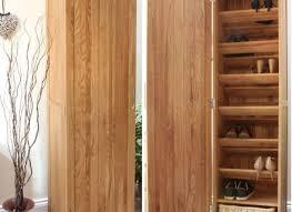 nara solid oak hidden. Simple Oak Nara Solid Oak Furniture Shoe Cupboard Cabinet Tall With Hidden U