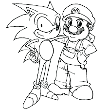 Super Brothers Coloring Pages Bros On Smash U Mario Odyssey Cappy
