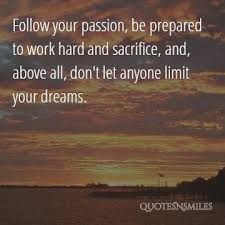 Quotes On Passion And Dreams Best of Images 24 Picture Quotes To Ignite Passion Famous Quotes Love