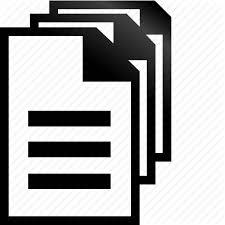 Chart Documentation Format Huge Black Icons By Aha Soft