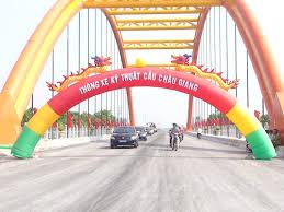 Thành phố Phủ Lý thông xe kỹ thuật cầu Châu Giang.