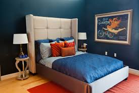 Modern Blue Bedroom Wall Bedroom Contemporary Blue Bedroom Decorations Blue Paint