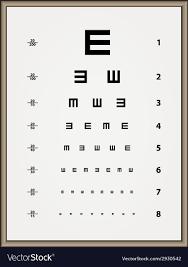 Snellen Chart Pdf Snellen Eye Test Chart