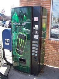 Monster Vending Machines Inspiration Monster Energy Drink Vending Machine House Ideas Pinterest
