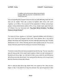 african american social science baseline essay dr john henrik clark  ss 18 22