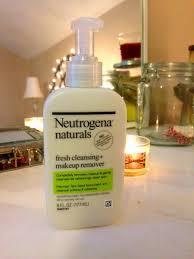 sữa rửa mặt tẩy trang neutrogena naturals fresh cleansing and makeup remover