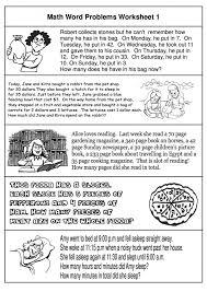 Grade Free Math Word Problems Math Worksheets 6th Grade Word ...