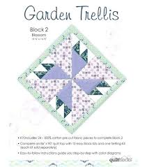Small Picture Garden Trellis Quilt Tutorial Jelly Roll Garden Trellis Quilt