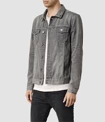 Light Gray Denim Jacket Watzman Denim Jacket Usa Usa