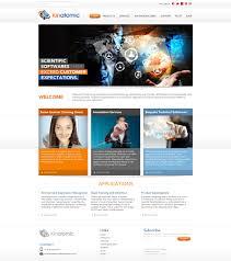 Professional Web Design Techniques Modern Professional Software Web Design For Kinatomic