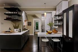 White Kitchen With Hardwood Floors Kitchen White Cabinets Wood Floors Espresso Kitchen Cabinets Dark