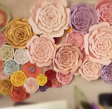 Flower Made In Paper 2019 Diy Half Made Giant Paper Flowers Large Artificial Rose Flower Home Wedding Party Backdrop Wall Decorations Photography Props From Mhongxullc