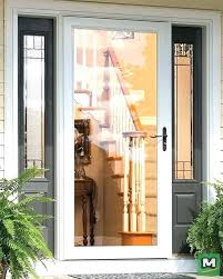 exterior door stunning fine the plus storm and screen will add curb appeal to adding a adding a screen door