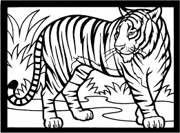 Small Picture tiger coloring pages detroit tigers Gianfredanet