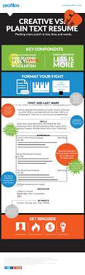 Resume Infographic Template Saneme