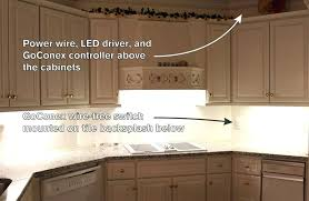 Backsplash Lighting Cool Cabinet Light Switch How To Install Kitchen Light Switch On Tile