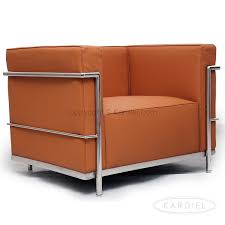 Le Corbusier Style LC3 Chair, Luxe Camel Standard Leather ...