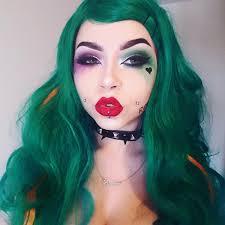 female joker makeup squad mugeek vidalondon