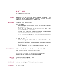 resume for receptionist pdf customer service resume example resume for receptionist pdf receptionist skills resume sample cover letters and resume sample resume for receptionist