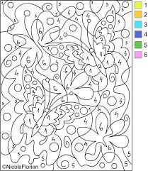 Small Picture Coloring Pages With Numbers All Coloring Page