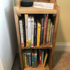 bookshelf end table step by step