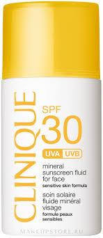 Clinique Mineral Sunscreen Face Fluid SPF30 - <b>Солнцезащитный</b> ...