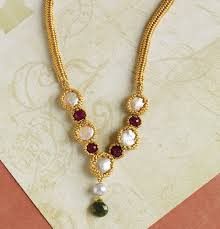 diy wedding necklace with beads