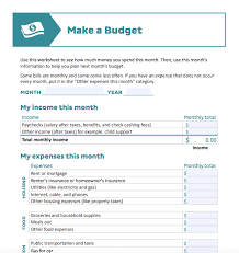 How To Budget A Budget Worksheet For Every Type Of Planner