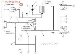 jerr dan harness wiring cab to sub Jerr Dan Light Bar Wiring Diagram jerr dan part 7552000204 Jerr-Dan Parts Manual
