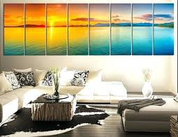 large panel wall art multi x large wall art panel sample blue sunset themes awesome simple  on extra large multi panel wall art with large panel wall art 5 piece wall art living room art blue ocean