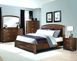 bedroom colors with brown furniture what wall