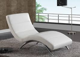 chez lounge furniture. image of white leather chaise lounge chair chez furniture