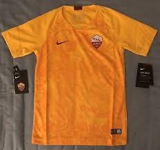 Roma Youth <b>Unisex Soccer</b> Jersey. <b>Unisex</b> Size: Small, Medium, X ...