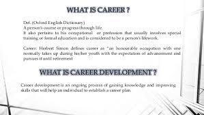 What Is Career Development Career Management Career Planning