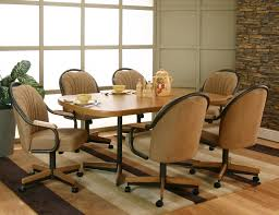 cramco inc shaw dining table 6 arm chairs item number d8685