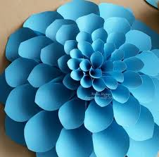 Pearl S Crafts Paper Flower Templates Large Flower Petals Anyone Can Craft