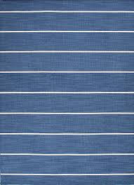 nantucket wool rug subtle stripe blue
