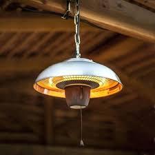 electric hanging heaters best of hanging patio heater with la hacienda hanging halogen patio heater electric