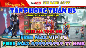 Tingame3S - Game Mobile Private| Tân Phong Thần H5 Free...