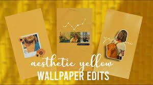 🌻 Aesthetic Yellow Wallpaper Edits ...