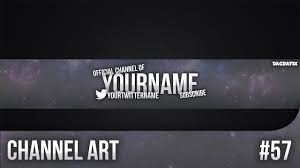 youtube channel art template. Unique Art In Youtube Channel Art Template A