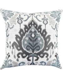 green and gray pillows. Contemporary And Vesper Lane Green And Grey Ikat Designer Throw Pillow Blue And Gray Pillows E