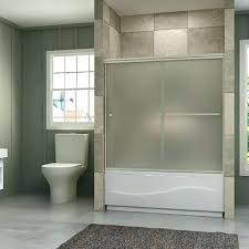 glass bathroom doors for shower frosted shower doors sunny shower semi bypass frosted glass bath tub glass bathroom doors for shower