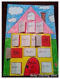 multiplication | Relief Teaching Ideas
