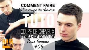 Coiffure Homme Court Tuto