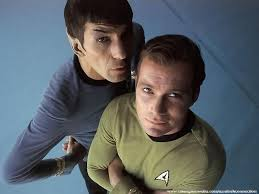Image result for kirk and spock