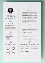 Simple Resume Template Vol4 Mac Resume Template Great For More