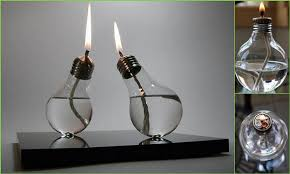 Making Oil Lamps with Bulbs