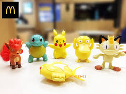 2018 mcdonald s pokemon happy meal toys collectibles xmas gift tracking number